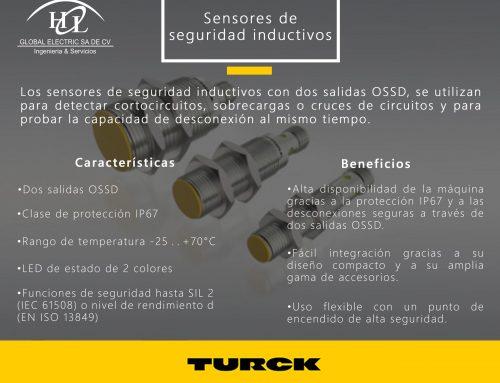 SENSORES DE SEGURIDAD INDUCTIVOS CON OSSD